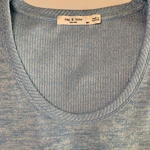 Rag and Bone Clara knit scoop neck top